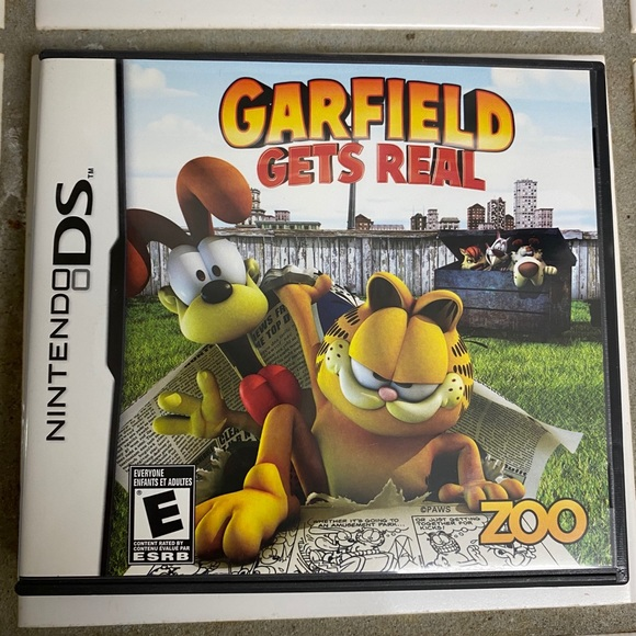 Nintendo Toys Ds Game Garfield Gets Real Poshmark